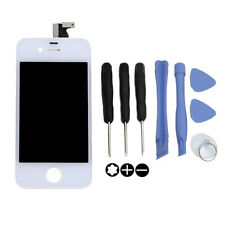 LCD Display + Touch Screen Digitizer Assembly For Apple iPhone 4 +Tools White