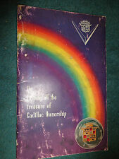 1949 CADILLAC OWNER'S MANUAL / OWNERS GUIDE / ORIGINAL BOOK