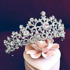Vintage Wedding Bridal Crystal Headband Queen Crown Tiara Hair Accessories Party