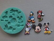 Silicone Mould MICKEY MOUSE AND FRIENDS Sugarcraft Cake Decorating Fondant