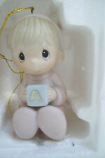 Precious Moments Figurine  O Come All Ye Faithful 1983 Enesco Ornament In Box