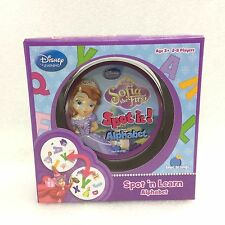 Spot it! Sofia the First - Disney Junior - Alphabet Childrens Learning