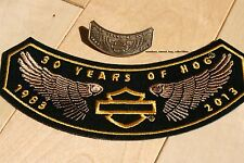 2013 HOG Patch and Pin Harley Davidson Owners Group Member HD MC rocker club xxx
