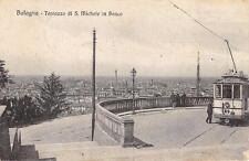 3932) BOLOGNA, TERRAZZO DI S. MICHELE IN BOSCO CON IL TRAM N°14. VG NEL 1924.
