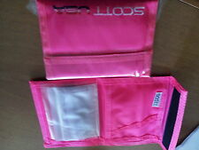 SCOTT Original Nylon WALLET 'Small' - fluorescent PINK, Bike / ski