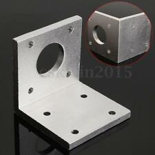 Fixed Seat Step Machine Stepper Motor Mounting Bracket Aluminum For 42mm NEMA17