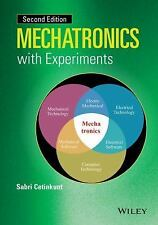 MECHATRONICS WITH EXPERIMENTS NEW HARDCOVER BOOK