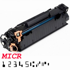 MICR Toner Cartridge for Check Canon 125, 126, HP CB435A 35A, 36A, CE285A 85A