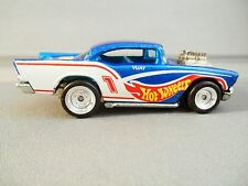 HOT WHEELS RACING TEAM COLORS CUSTOM '57 CHEVY LOOSE