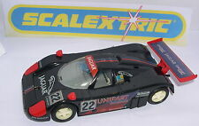 SCALEXTRIC C-602W JAGUAR XJR9  #22  UNIPART  ONLY SET C-804  MINT UNBOXED