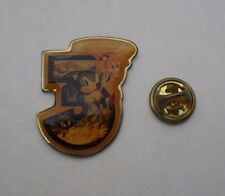 SONIC THE HEDGEHOG 3 USA RARA importazione Vintage metal pin badge pin locale Genesis