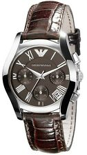 NEW EMPORIO ARMANI AR0672 LADIES LEATHER WATCH - 2 YEAR WARRANTY