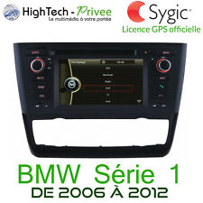 "Autoradio Multimedia 6.2"" Touch Dvd GPS Europa iPod USB SD BMW Serie 1 E87 E88"