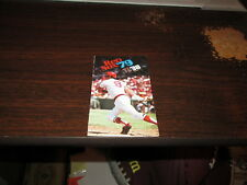MLB Boston Red Sox Vintage Rare 1979 Pocket Schedule