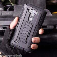 Protective Future Armor Hybrid Hard Back Case Cover For LG G4