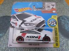 Hot Wheels 2017 #079/365 FORD FOCUS RS white HW Speed Graphics Koni