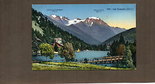 Switzerland lake Champex and Grand Combin 1470Mtr  card unposted