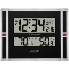 La Crosse 513-149 Indoor/Outdoor Thermometer & Atomic Clock