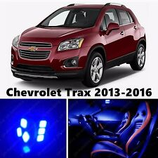 13pcs LED Blue Light Interior Package Kit for Chevrolet Trax 2013-2016