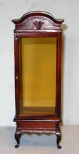 QUEENANNE DISPLAY CABINET  DOLLHOUSE FURNITURE MINIATURES