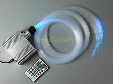New RGBW fiber optic light kit 200xtwinkle stars house deocoration ceiling light