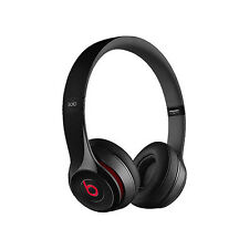 Brand New Beats By Dr. Dre Solo 2 wired Headphones Black (sealed box)