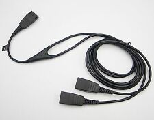 Jabra / GN Netcom Headset Y Training Supervisor Cable Cord without MUTE function