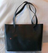 Bally black Italian leather classic hand bag purse shoulder bag barely used