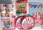 SHOPKINS Birthday Party Supply Pack Kit for 16 w/ Balloons