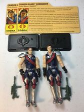 GI Joe Cobra 25th Anniversary Figure Lot Comic Pack Tomax And Xamot