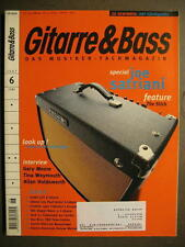 GITARRE & BASS 1997 # 6 - JOE SATRIANI GARY MOORE ALLAN HOLDSWORTH THE STICK