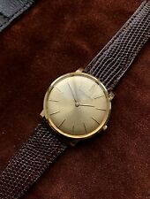 Vacheron Constantin Men's Solid 18ct Gold Ultra Thin Wristwatch 1963