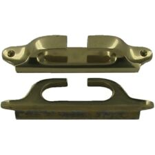 """Fairlead Lipped 6 3/4"""" Brass. Narrowboat Canal Barge Boat 300320"""