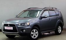 MITSUBISHI OUTLANDER XL WIND RAIN DEFLECTORS 4 PCS 2007-2012
