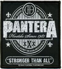 "PANTERA ""Stronger than all"" Patch/ricamate 602440 #"