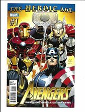AVENGERS # 1 (THE HEROIC AGE, JULY 2010), NM