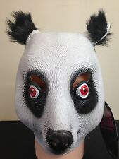 Kids Panda Bear CRO Mask Movie Quality  Zoo Animal Fancy Dress Party