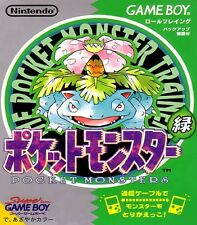 Gameboy juego-Pocket Monsters Midori/Pokemon verde Green (jap) (módulo)