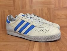 RARE�� Adidas Montreal Vintage Fashion Sneakers Sz 11 Gray Blue Men's 2003 Used