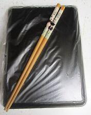Japanese Bento Box PANDA BEAR Chinese Chopsticks Made in Japan lid boxes