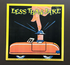 """LESS THAN JAKE - Crash Course In Being An Asshole 7"""" Grey Vinyl Record Mint"""