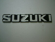 SUZUKI TS/TC 125/250/400 K MODELTANK BADGE, NEW REPRODUCTION.