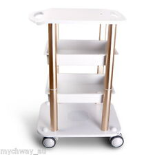 Salon Hairdresser Beauty Spa Coloring Hair Trolley Rolling Storage Cart ABS Mini