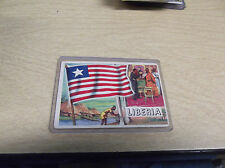 1952 TOPPS FLAGS OF THE WORLD #25 LIBERIA NONSPORT CARD