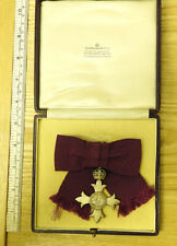 Lady's Civil MBE Medal Most Excellent Order Of The British Empire Badge (4171)