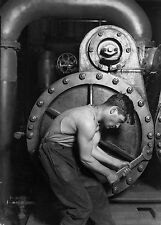 Masters of Photography: Power House Mechanic by Lewis Hine, 1920: Digital Photo