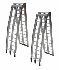 Loading Ramps ATV Quad UTV 4 Wheeler Motorcycle, 7.5 ft, Pair, Aluminum (st1803)