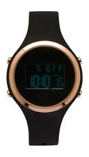 aeropostale womens digital rubber watch black