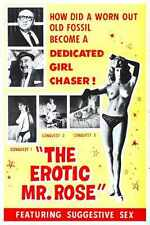 Erotic Mr Rose Poster 01 A3 Box Canvas Print