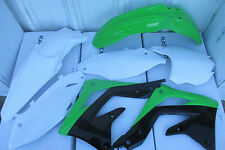 RACE TECH REPLICA KAWASAKI PLASTIC KIT  KX450F FENDERS SHROUDS 2013 2014 2015